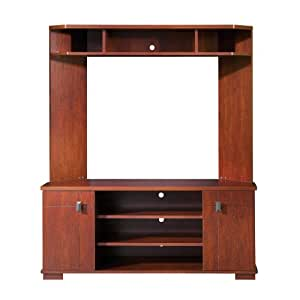 South Shore Furniture, Vertex Collection, Corner Entertainment Center, Classic Cherry