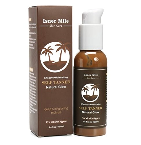 Effective Moisturizing Natural Glow Self Tanner Deep Long Lasting 100ml by ShopIdea
