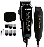 Wahl PRO Taper 2000 Hair Clipper + Ac Trimmer Essentials Combo 8329 Haircut Kit Great Quality