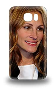 Hot Snap On Julia Roberts American Female Jules Pretty Woman Notting Hill Erin Brockovich Hard Cover 3D PC Case Protective 3D PC Case For Galaxy S6 ( Custom Picture iPhone 6, iPhone 6 PLUS, iPhone 5, iPhone 5S, iPhone 5C, iPhone 4, iPhone 4S,Galaxy S6,Galaxy S5,Galaxy S4,Galaxy S3,Note 3,iPad Mini-Mini 2,iPad Air )