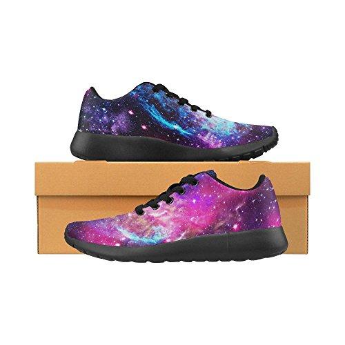 Interestprint Femmes Cross Trainer Trail Chaussures De Course Jogging Sport Léger Marche Athlétisme Chaussures De Sport Multi 8