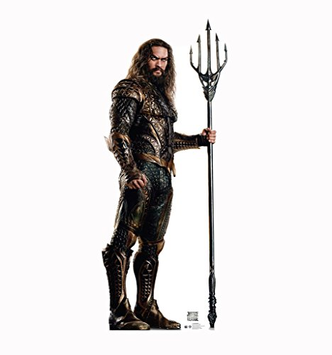 Aquaman - Justice League (2017 Film) - Advanced Graphics Life Size Cardboard Standup