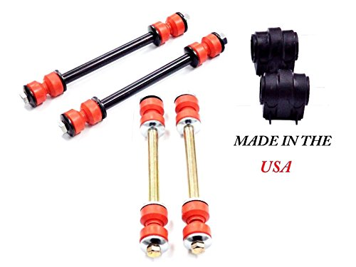 6PC MADE IN USA SWAY BAR LINKS + BUSHINGS FOR FORD EXPLORER MERCURY MOUNTAINEER 06-10 - Ford Sway Bar Bushings