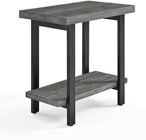Sonoma Metal and Wood End Table