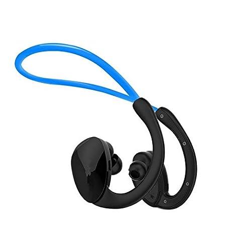 Xcfmg Auriculares Bluetooth Auricular Bluetooth Que Ejecuten Dobles Traseros Inalámbricos De Oreja Oreja Colgando Impermeable Gimnasio Escuchando Música ...