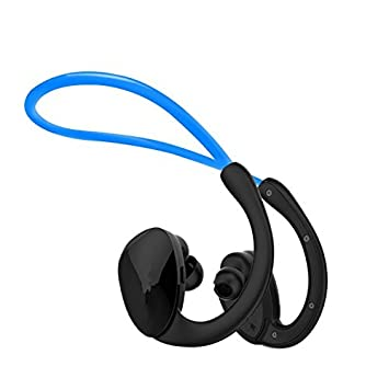Xcfmg Auriculares Bluetooth Auricular Bluetooth Que Ejecuten Dobles Traseros Inalámbricos De Oreja Oreja Colgando Impermeable Gimnasio