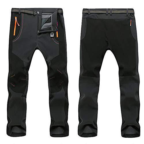 imperm/éable et Respirant pour Le Trekking et Le Sport en Plein air Coupe ajust/ée Pantalon dhiver Fonctionnel Softshell pour Hommes pour Hommes