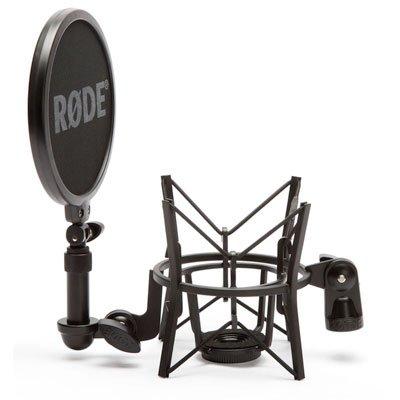 Rode SM6 - Montaje de choque de micrófono con protector d...