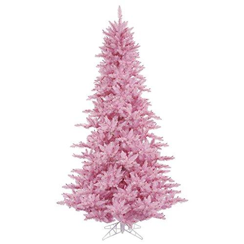 Unlit Pink Fir Christmas Tree