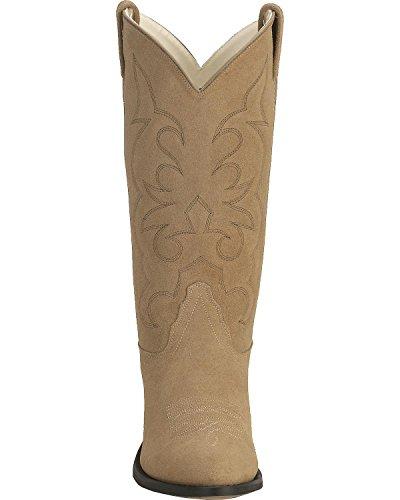Suede Boot Natural Men's Scm3018 Roughout Cowboy West Old HxaqTPa