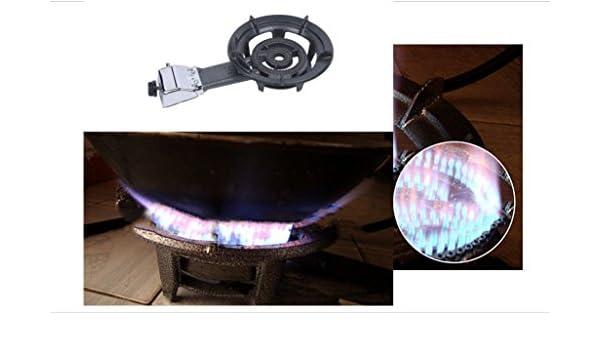 Único portátil estufa de gas propano, para camping, cocina ...