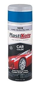 PlastiKote 1039 Ford True Blue Pearl Metallic Base Coat Automotive Touch-Up Paint - 11 oz.