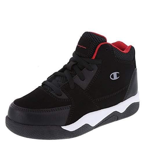 b0c9bd834fd43 Champion Black Red Boys  High-Top Overtime Basketball 11 Regular