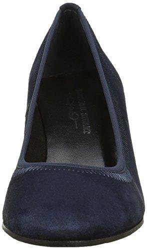 Azul Velours Mujer vestir Marine Stuart Kaja de Elizabeth Zapatos Bleu 300 x6qO4aS0w