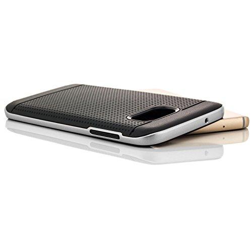 TPU Neo Hybrid Case for Samsung Galaxy S7 Edge (Grey) - 9