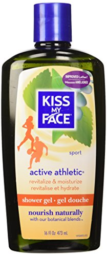 - Kiss My Face Shower Gel, Active Athletic - 16 oz