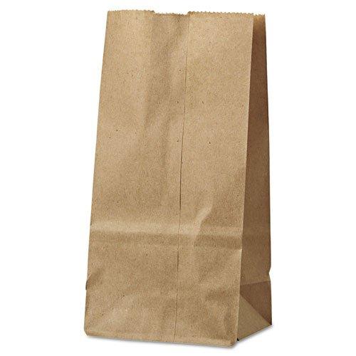 General - 2# Paper Bag, 30lb Kraft, Brown, 4 5/16 x 2 7/16 x 7 7/8, 500/Pack GK2500 (DMi PK by General (Image #3)