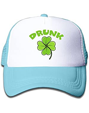 Drunk Baby Unisex Cool Adjustable Baseball Mesh Cap
