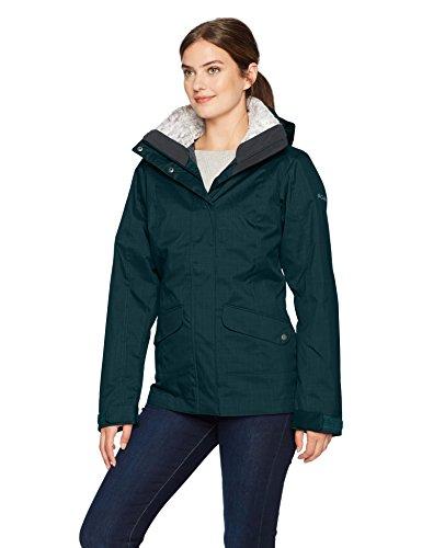 Columbia Women's Sleet to Street Interchange Jacket, Night Shadow, XL