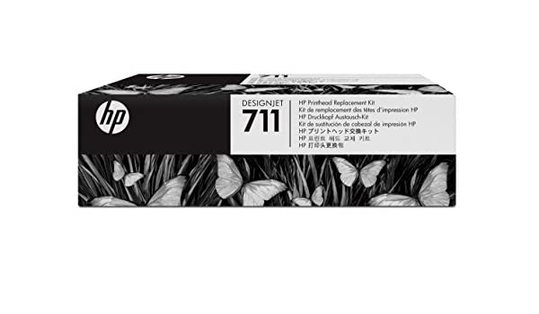 Hp - Designjet cabezal de impresión de austauschkit nº 711: Hp: Amazon.es: Oficina y papelería
