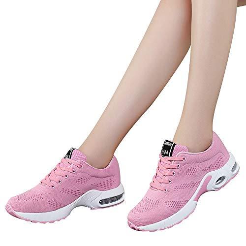 (Gyoume Sports Shoes Women Slip On Shoes Running Walking Shoes Student Mesh Shoe)