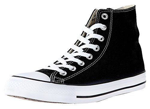 Converse All Star Hi Tops - Converse Unisex Chuck Taylor All Star Hi Top Sneaker (9.5 B(M) US Women / 7.5 D(M) US Men, Black)