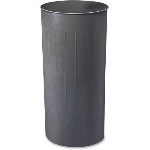 9610CH Safco 20-Gallon Steel Round Wastebasket - 20 gal Capacity - Round - 29.3
