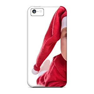 Tough Iphone LvD240Vofe Case Cover/ Case For Iphone 5c(waiting For Santa Claus)