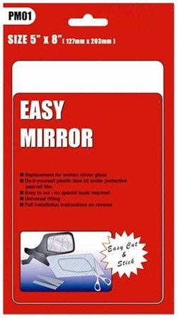 Universal car door wing mirror glass replacement 5 x 8 amazon universal car door wing mirror glass replacement 5quot planetlyrics Image collections