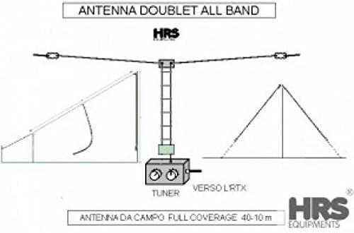 Doublet todos banda antena: Amazon.es: Electrónica