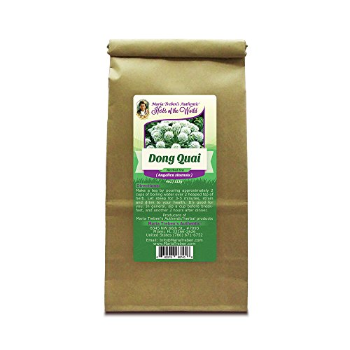 Dong Quai Root (Angelica sinensis) 4oz/113g Herbal Tea - Maria Treben's Authentic™ Herbs of the (Empress China Japan)