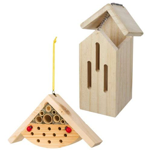 Toysmith Paint A Hideaway Butterfly & Bee Home Set