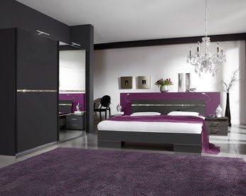 Schlafzimmer Komplett Licht, moderne KIRUNA für Erwachsene ...