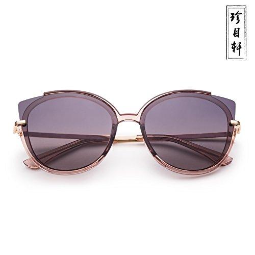 Gray Pink De Xue zhenghao Gafas Sol Hx1wqnq76I