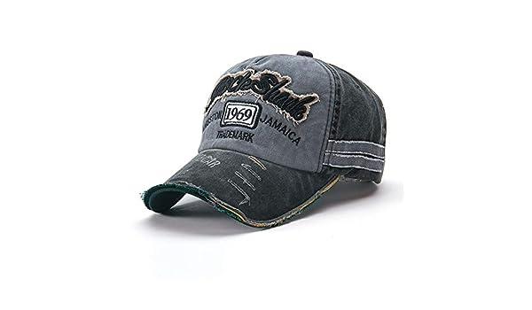 zhuzhuwen Sombrero de Moda Viejo Sombrero de béisbol Desgastado ...