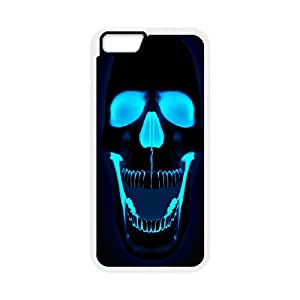 iPhone 6 Plus 5.5 Inch Phone Case polygon skull colorful Q6A1159195