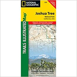 National Geographic Trails Illustrated Joshua Tree: National Park ...
