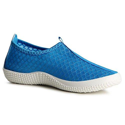 topschuhe24 - Bailarinas para mujer Azul