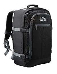 Cabin Max Metz Extra Backpack Flight Approved Carryon Bag - Chest Straps