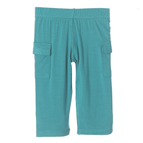 KicKee Pants Little Boys Cargo Pant, Lagoon, 3T