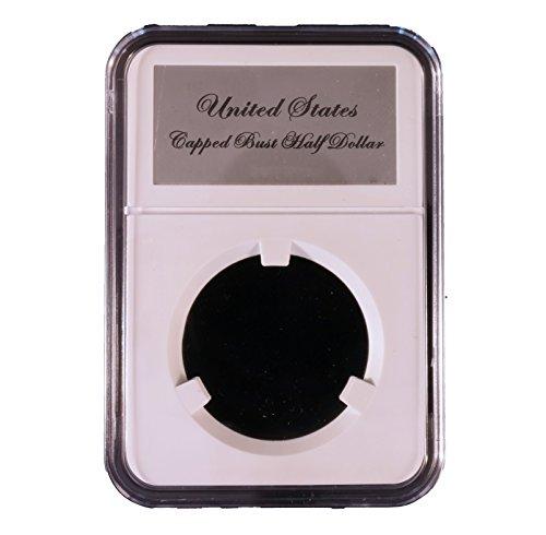 Little Bear Elite Certified-Style Coin Holder for Early Capped Bust Half Dollars 1807 - 1836 Lettered Edge