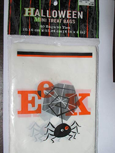 Eek! Spider Halloween Mini Treat Bags]()