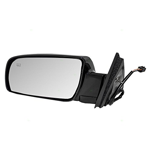 Drivers Power Side View Mirror Heated Replacement for Chevrolet Cadillac GMC Pickup Truck SUV 15764747 ()
