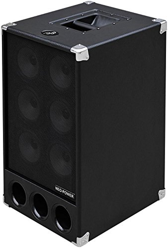 Phil Jones Bass PB-300 250W Active Bass Cabinet Black