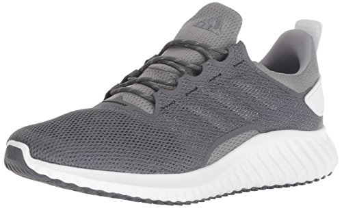 adidas Men's Alphabounce CR CC Running Shoe Grey/White, 10.5 M US