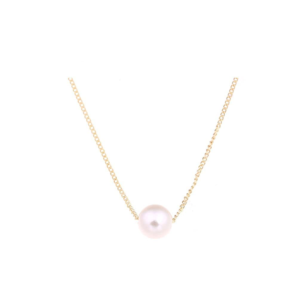 Pearl Necklace, White Pearl Necklace,Pearl Bridal,Pearl Jewelry,Bridesmaid Gift GIRBBY-1 GIRBBY-02