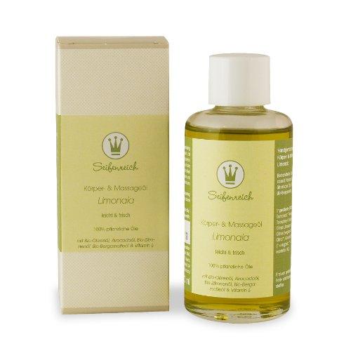 Seifenreich Körper- und Massageöl Limonaia, 1er Pack (1 x 100 ml)