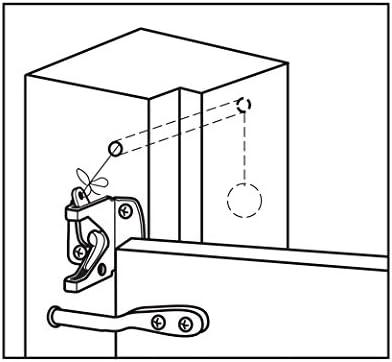 National Mfg.N342600Automatic Gate Latch-SS AUTO GATE LATCH (並行輸入品)