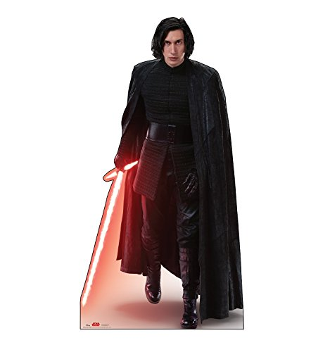 Advanced Graphics Kylo Ren Action Life Size Cardboard Cutout Standup - Star Wars: Episode ...