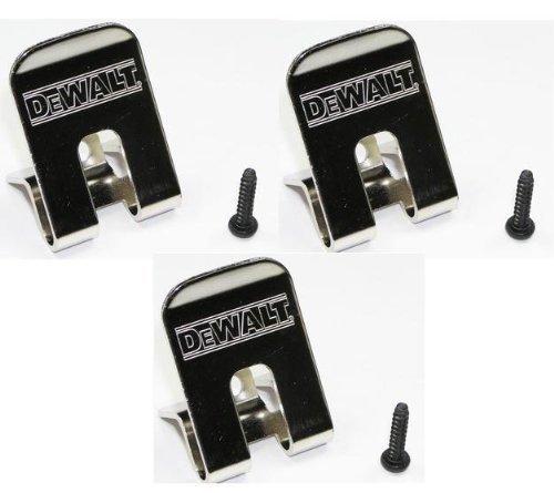 DeWalt 659916-00SV Belt Clip/Hook 3-Pack for 18V Impact Driver and Drills - Dewalt Drill Parts